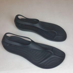 Crocs Sexi Black Flip 5